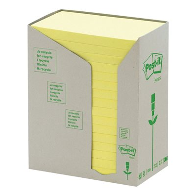 Post-it® Recycled Self-Adhesive Notes