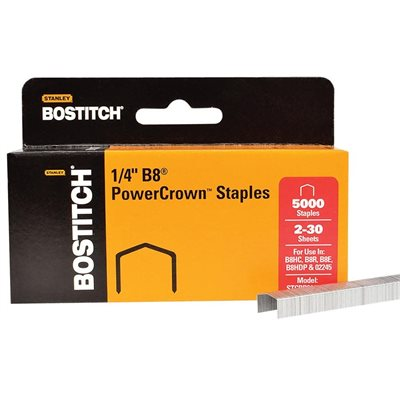 Agrafes B8® PowerCrown™